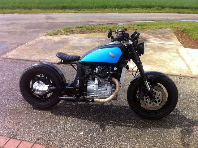Honda Garage Utrecht : Motomorphosis: honda gl 500 bobber martins dream garage motors