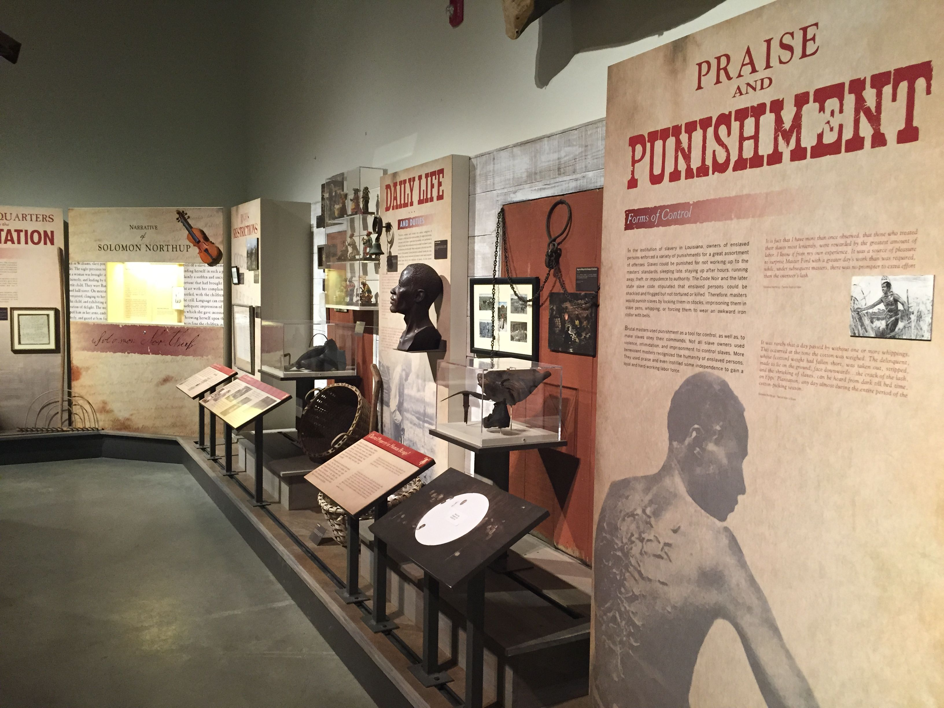 slavery museum exhibits - Google Search