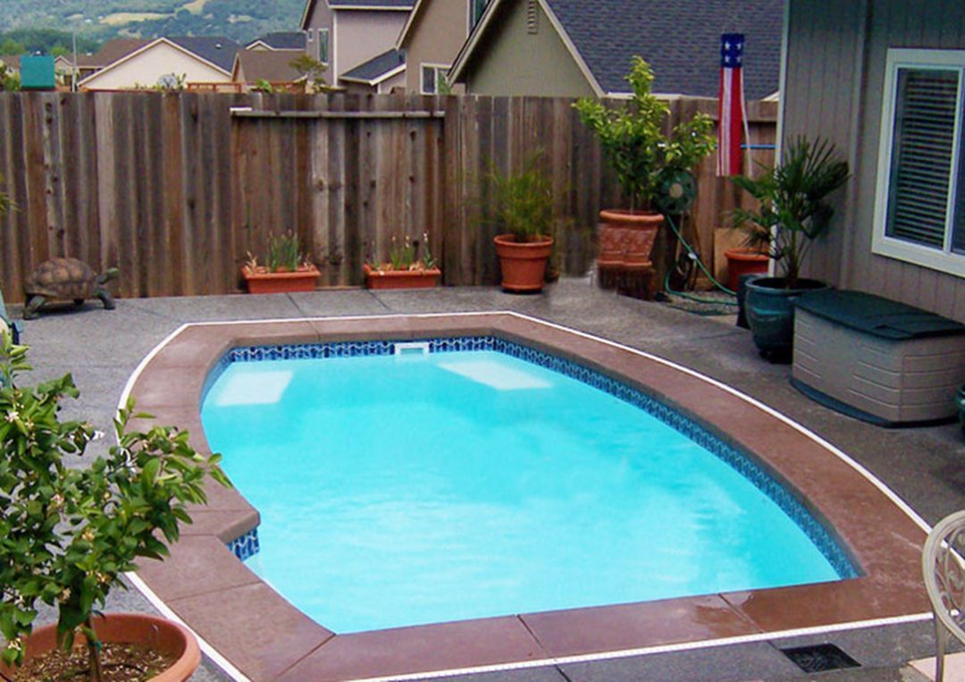 Small Inground Swimming Pools Ideas 180 Small Inground Pool