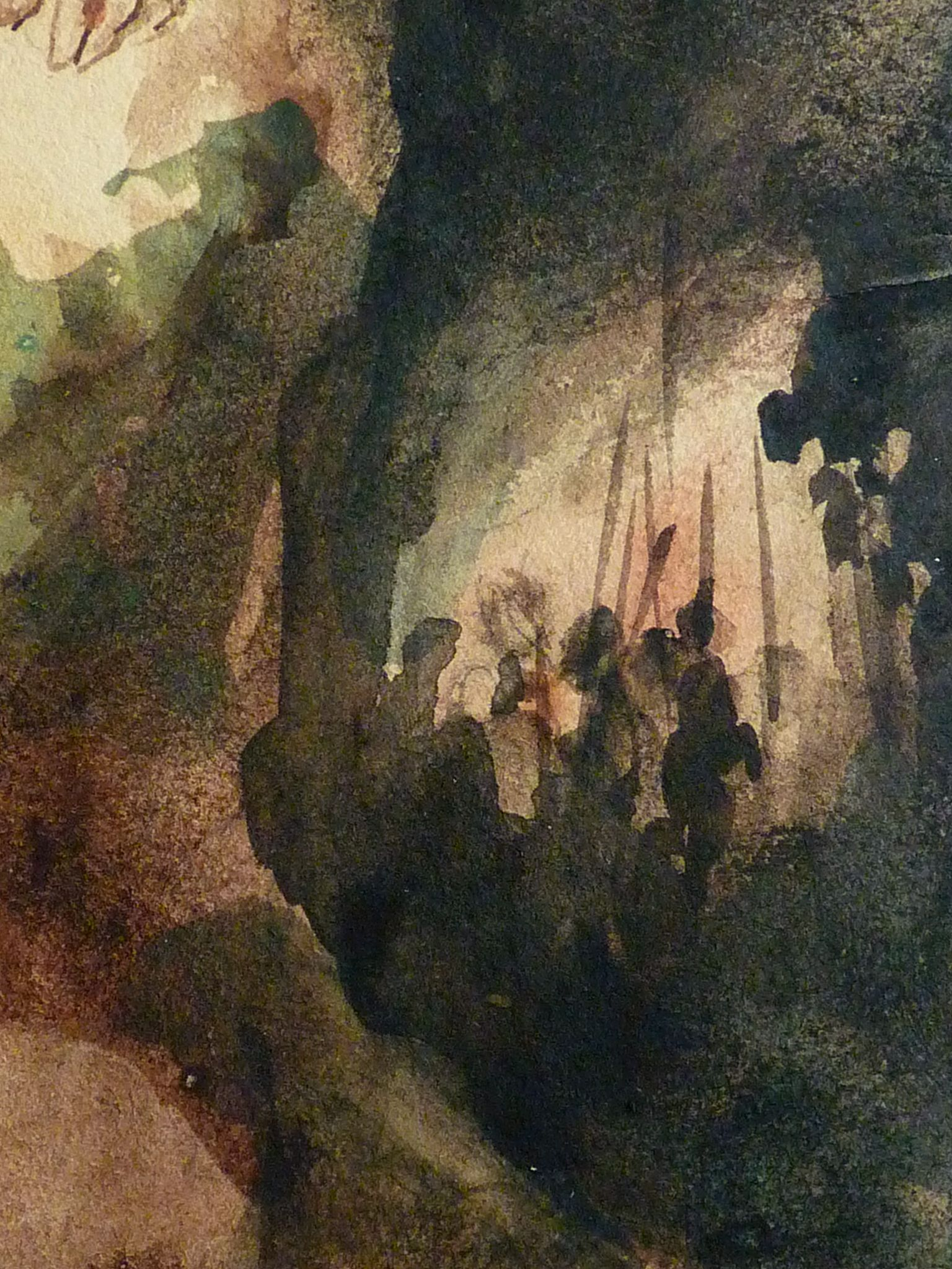 Delacroix Eugene 1826 Le Christ Au Jardin Des Oliviers Eglise