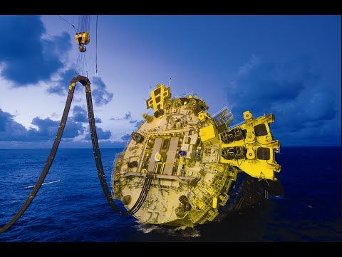 Most Advanced And Deepest Oil Rig In The World - Perdido Oil Rig