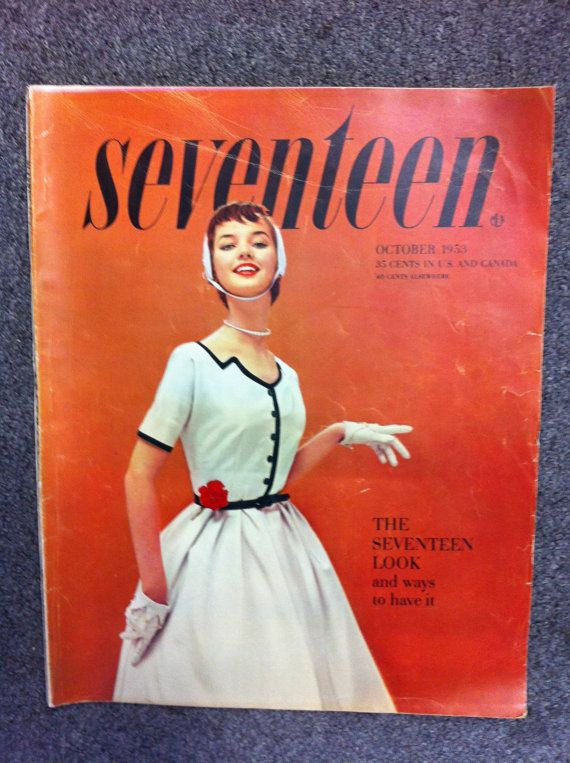 Seventeen Magazine / Cover / October 1953