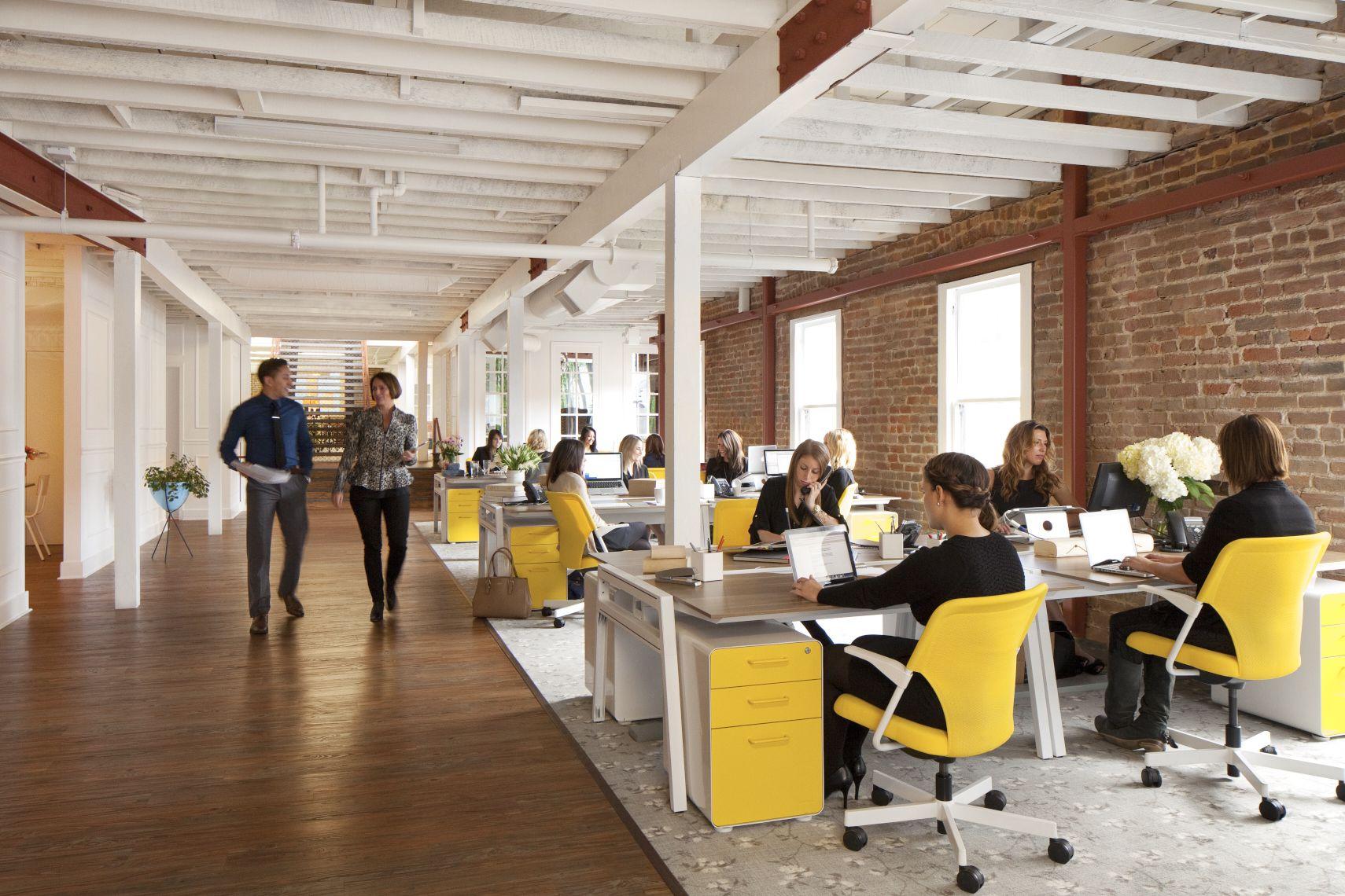 A Look Inside Grow Marketing S San Francisco Office Bureau Espace