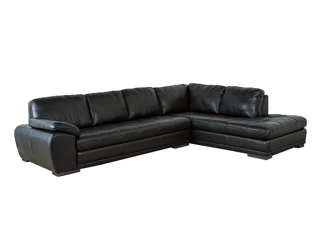 Palliser Furniture Miami Sectional in Black Bonded Leather 395495 395493  sc 1 st  Pinterest : sectional sofa miami - Sectionals, Sofas & Couches