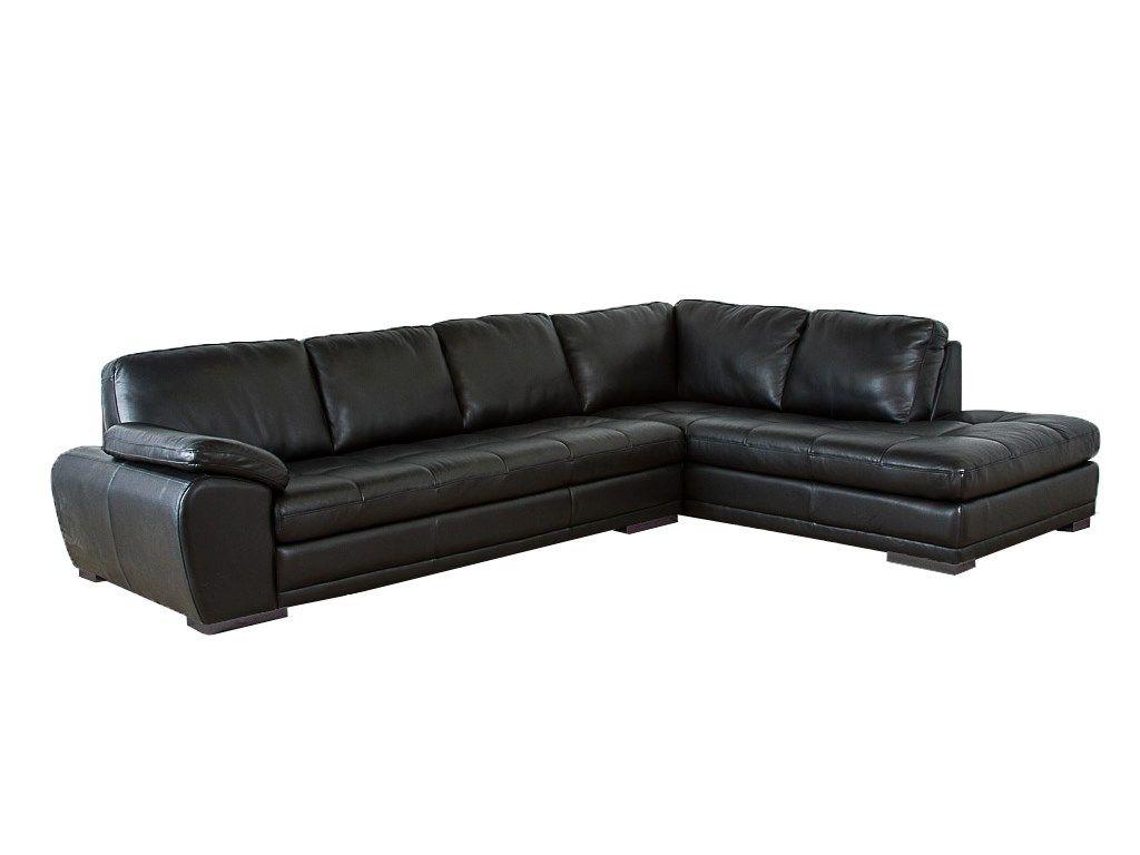 Palliser Miami Sectional From 1 968 00 By Palliser: Palliser Furniture Miami Sectional In Black Bonded Leather