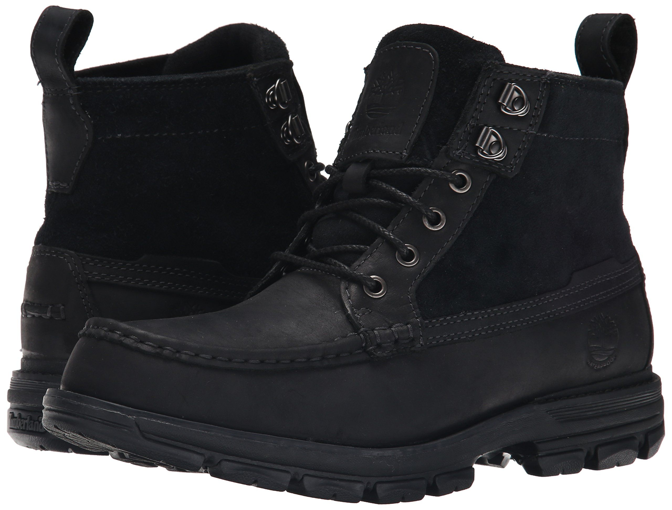 7ea020b7a477 Timberland Mens Heston Mid Waterproof Boot Black 9 M US   Want to know  more