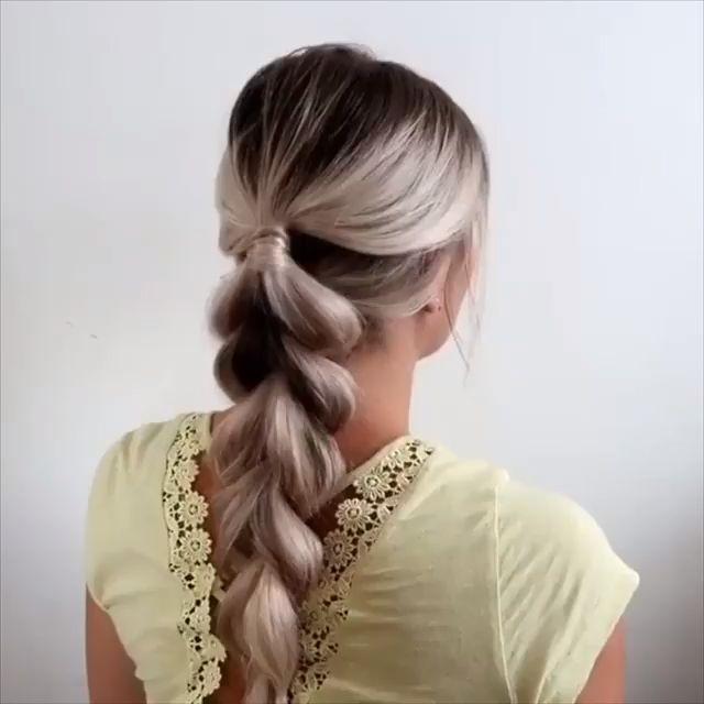 Einfaches und schnelles Haar-Tutorial - #Einfaches #HaarTutorial #schnelles #und #hairtutorials