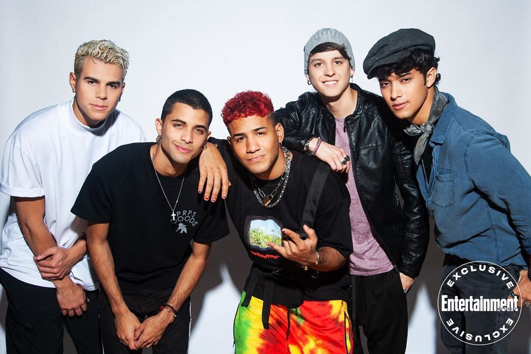 Nearly four years after winning the first season of the Ricky Martin and Simon Cowell-produced series @LaBanda, CNCO is still the same…