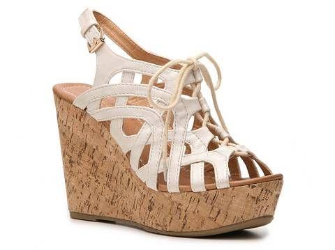 ac0ea1b440c Report Yuko Wedge Sandal Womens Wedge Sandals Sandals Womens Shoes - DSW