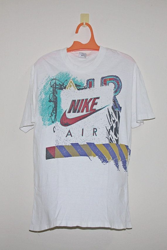 f633dd16 Vintage NIKE AIR 90s / Nike t shirt / soft shirt //Jordan / Jordan / Grey  Tag / Tee Shirt by ArenaVintage