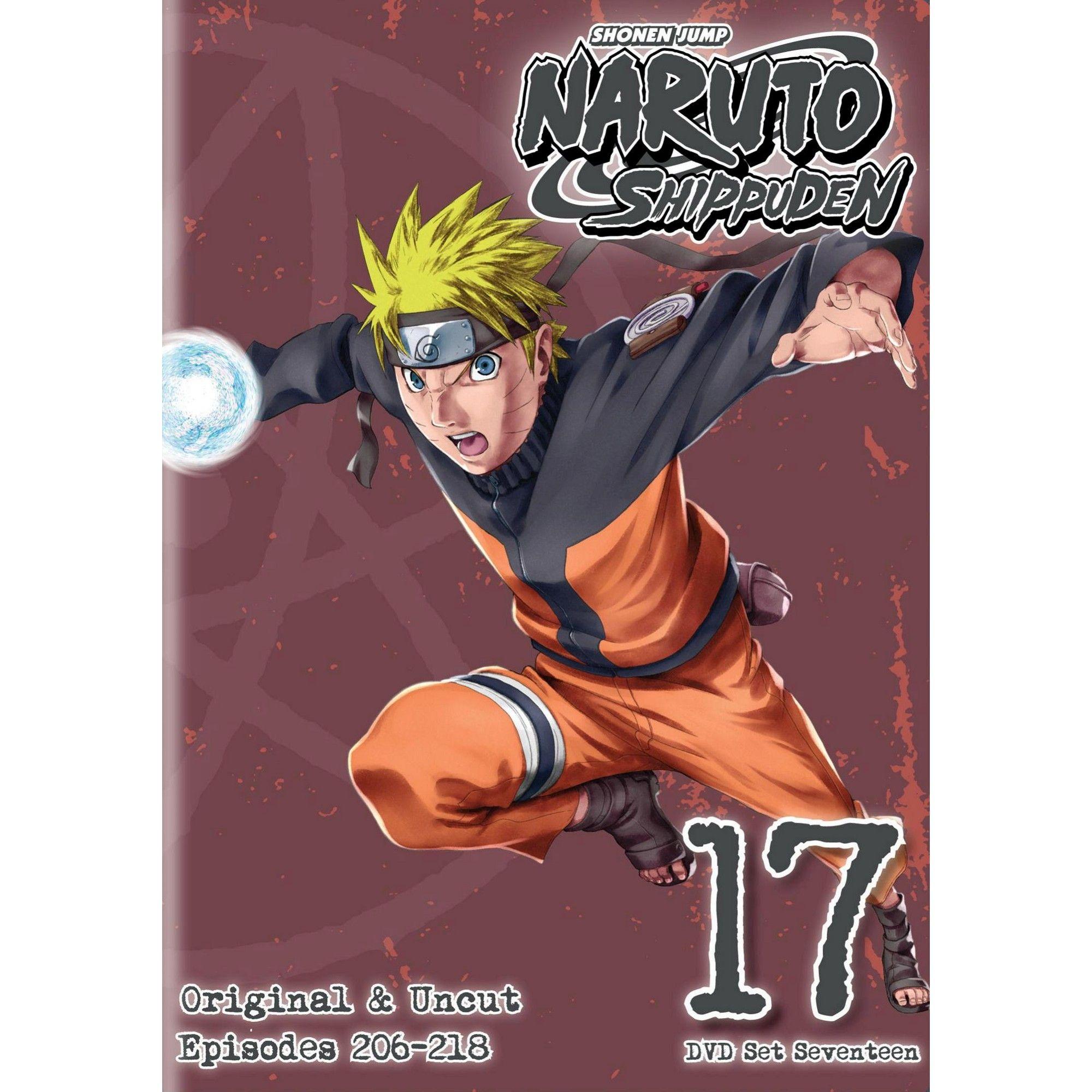 Naruto Shippuden: Box Set 17 (DVD)(2014) | Naruto shippuden, Naruto, Anime  dvd