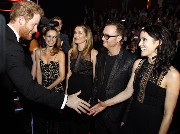 One Direction, Little Mix and more greet Prince Harry at Royal