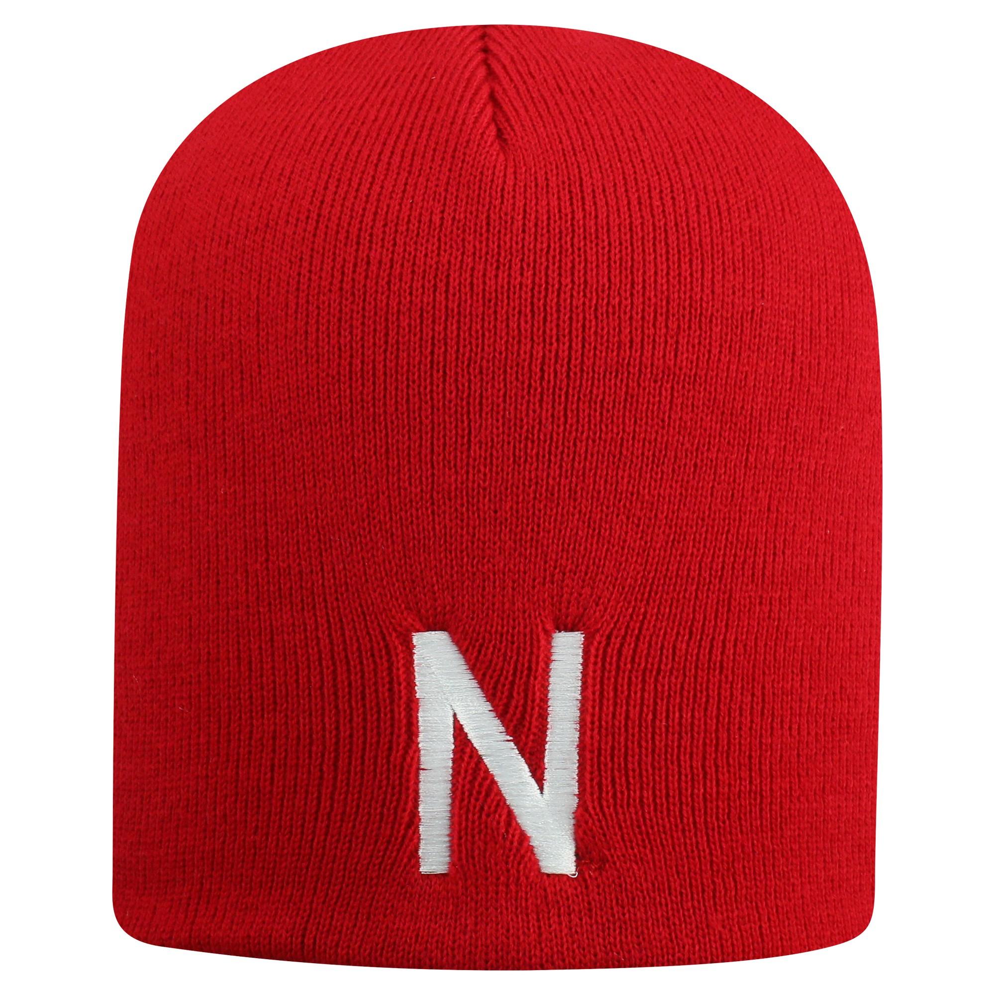 64b878899f5a83 NCAA Nebraska Cornhuskers Beanie Hat, Blue | Products | Beanie hats ...