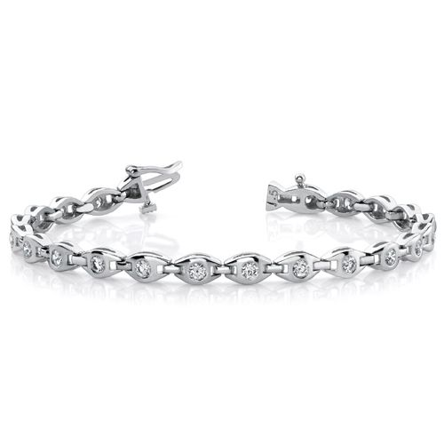 Diamantarmband 1.00 Karat aus 585er 750er Gelb- oder Weißgold   diamantarmband  diamonds  diamante  diamanten  gold  schmuck   diamantschmuck  juwelier  abt   ... f3b20115da96a