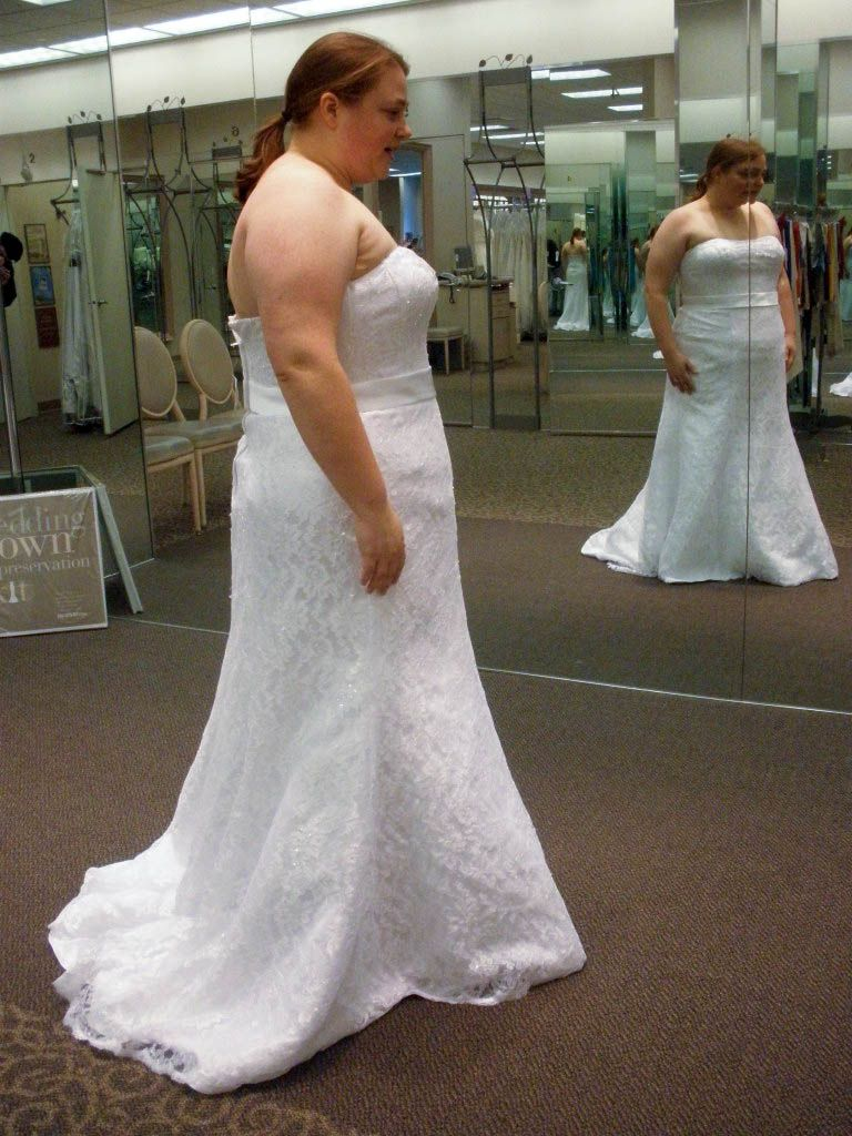Dress is a common type of plus size wedding dress corset styles ...