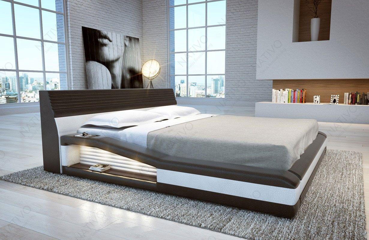 Bed Met Led Verlichting.Design Bed Tyson Met Led Verlichting Interieur Bank