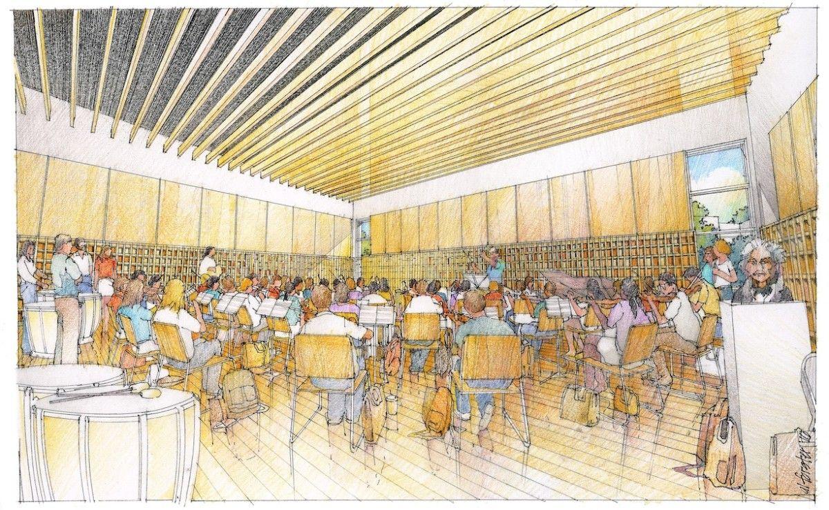 Concordia university mwt building live room concordia