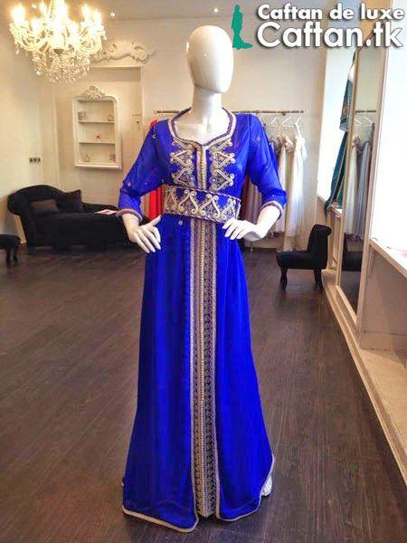 Location robe de soiree bleu roi