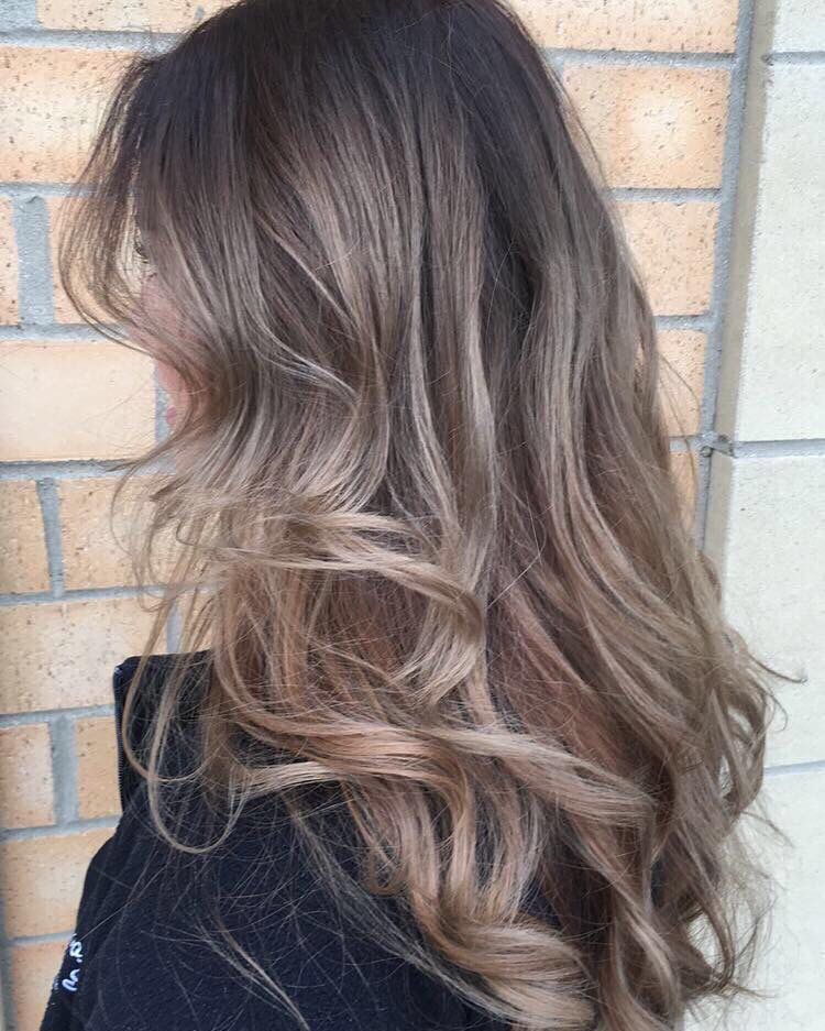 The Perfect Cool Toned Balayage Brown Hair Balayage Cool Tone Brown Hair Hair