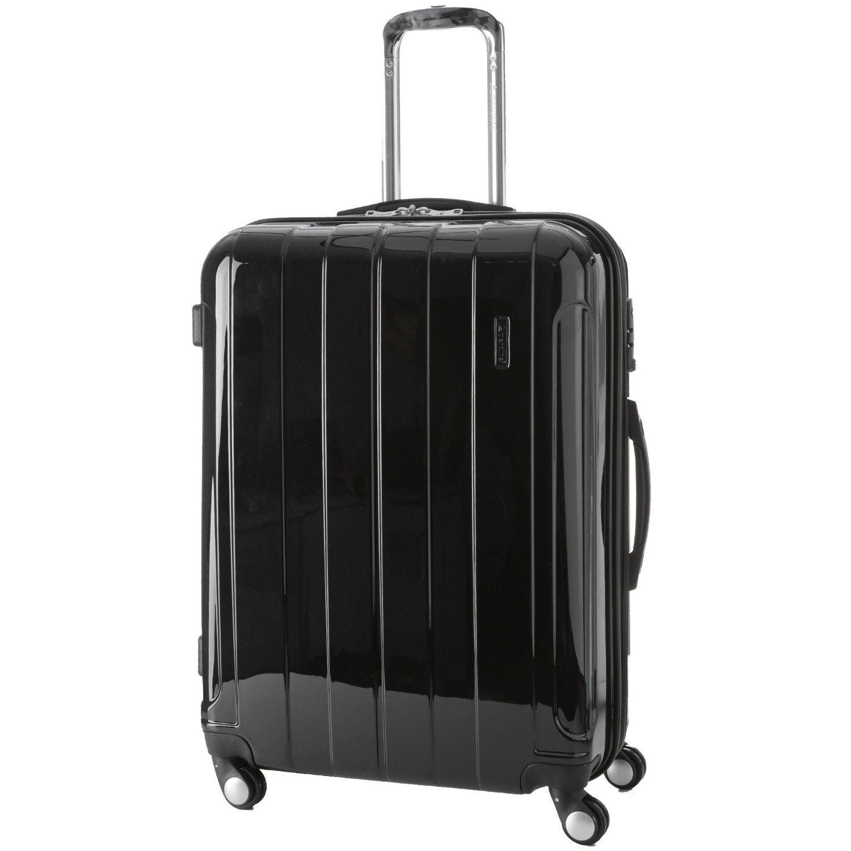 Aerolite 4-Wheel Spinner Hardshell Cabin Hand Luggage Suitcase, 55 ...