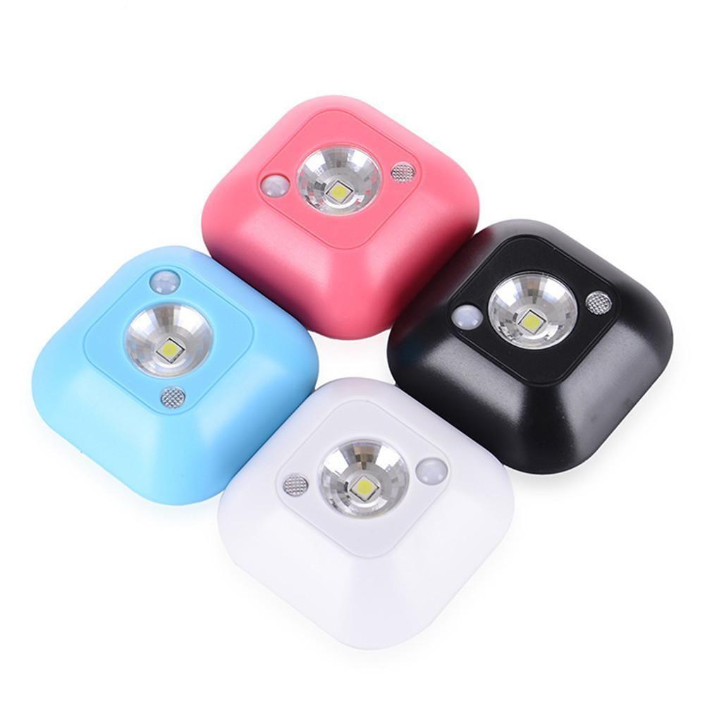 Led mini wireless infrared motion sensor night light wall emergency