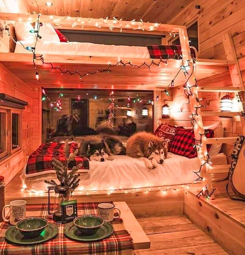 Photo of We-shed – dual tiny home he-shed and she-shed with conjoined deck