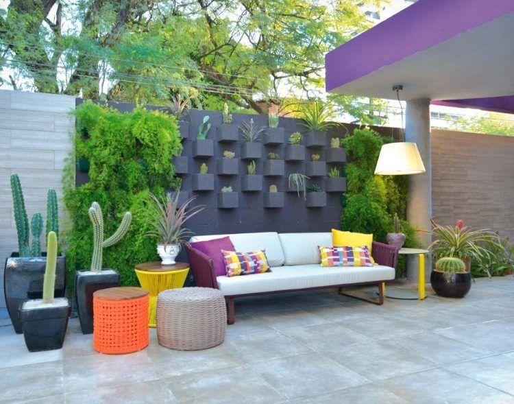 La clôture jardin moderne accent qui garantit bonne protection