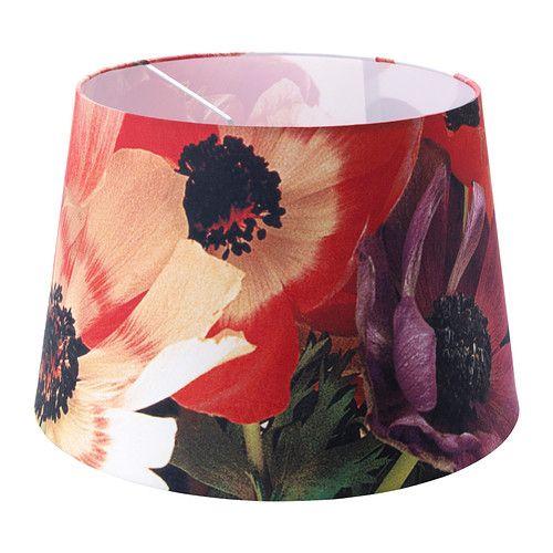 h rja abat jour mod les divers fleurs rouge ikea lampes pinterest fleurs rouges ikea. Black Bedroom Furniture Sets. Home Design Ideas