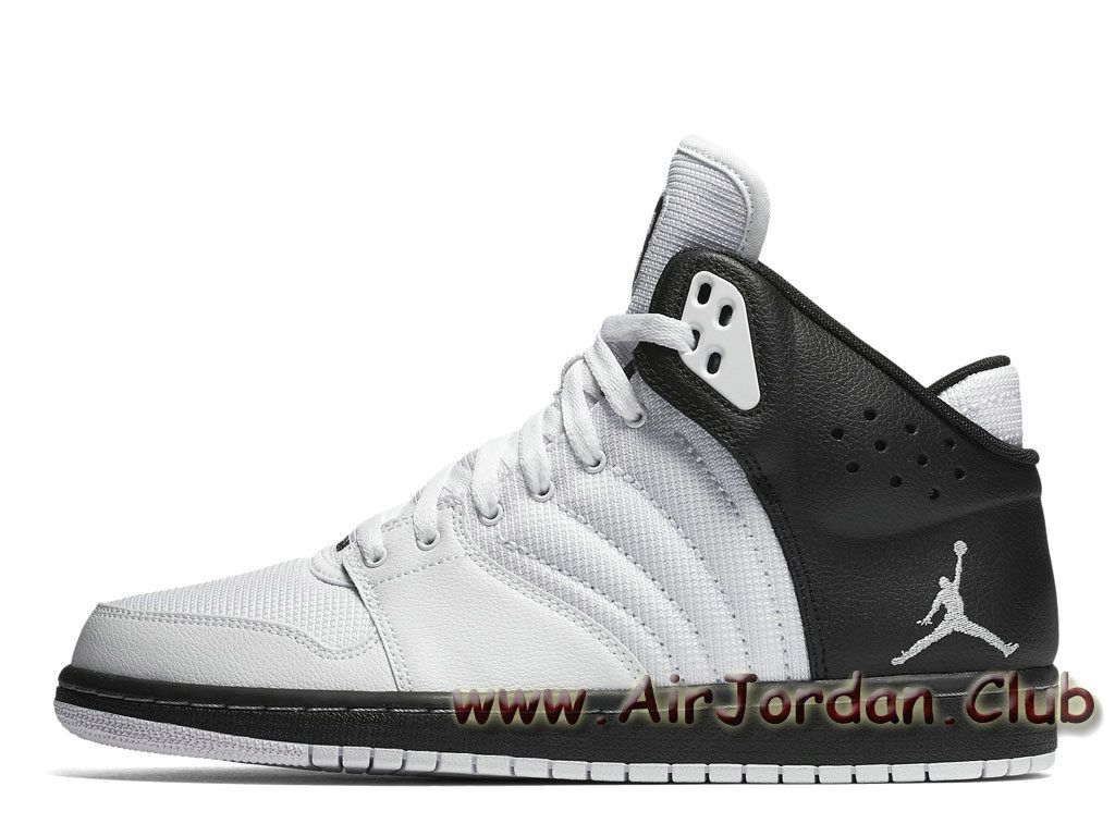 meilleur pas cher 3e8f9 d248c Chaussures Jordan 1 Flight 4 White Wolf Grey 820135-004 ...