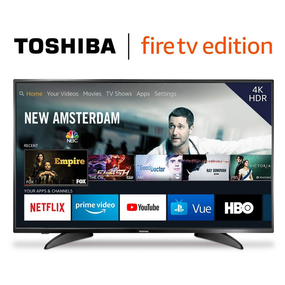 Product Description Toshiba 4k Uhd Smart Tv Is A New Generation Of Television Featuring The Fire Tv Experience Built In And Including A Voice Remote Wi Video S