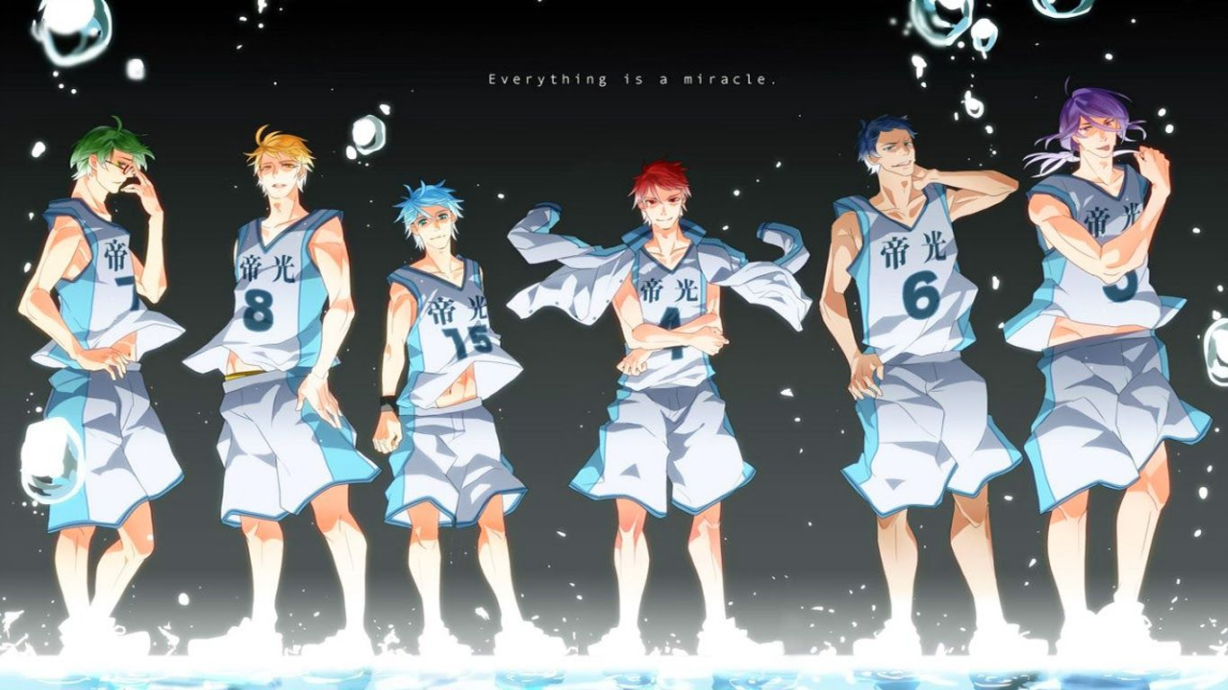 Download animes 480p to 720p kurokos basketball kuroko no basuke generation of miracles wallpaper voltagebd Choice Image