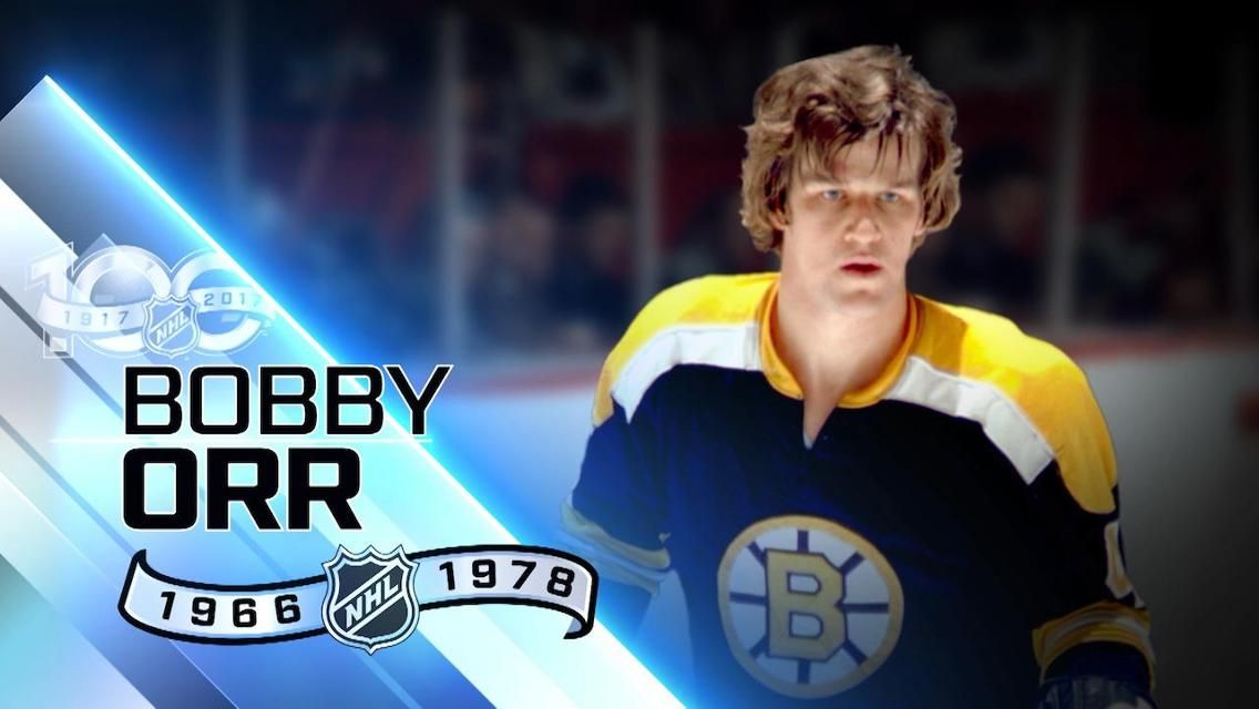 Bobby Orr 100 Greatest NHL Players Bobby orr, Nhl