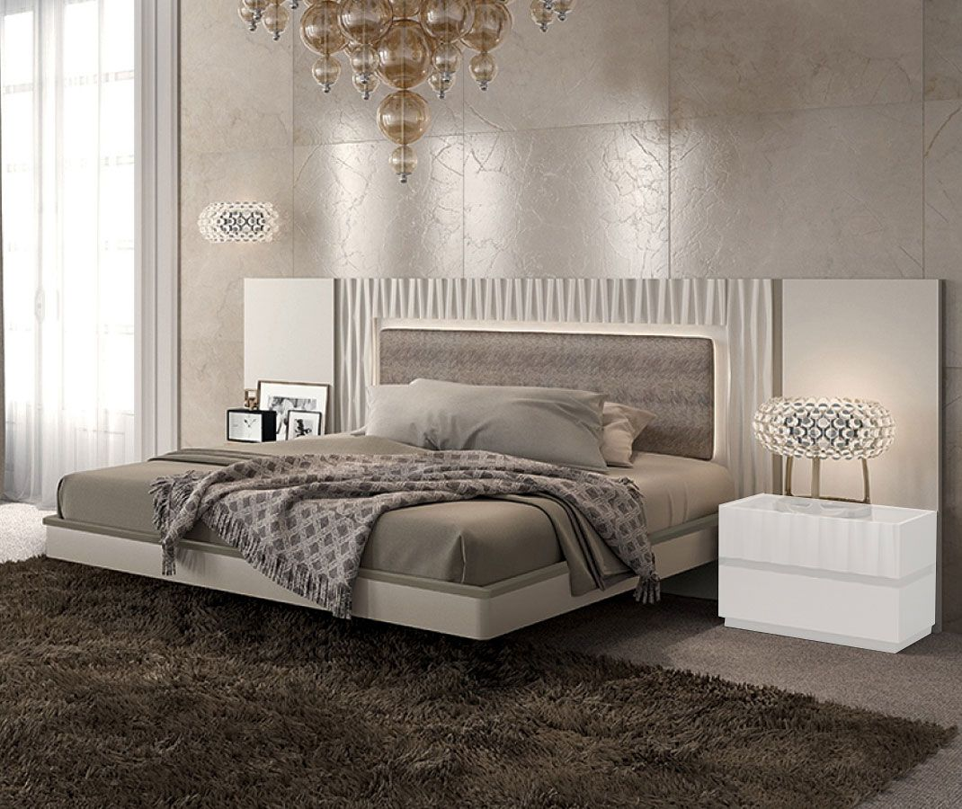 Marina Panel Bed Platform Bedroom Sets Bedroom Set