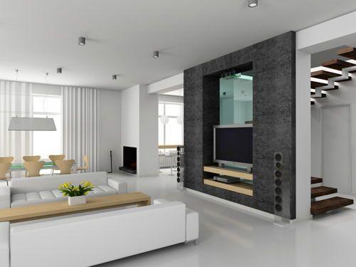 Sala con tv deco hogar decoraci n de unas fachadas for Comedor completo a la meta