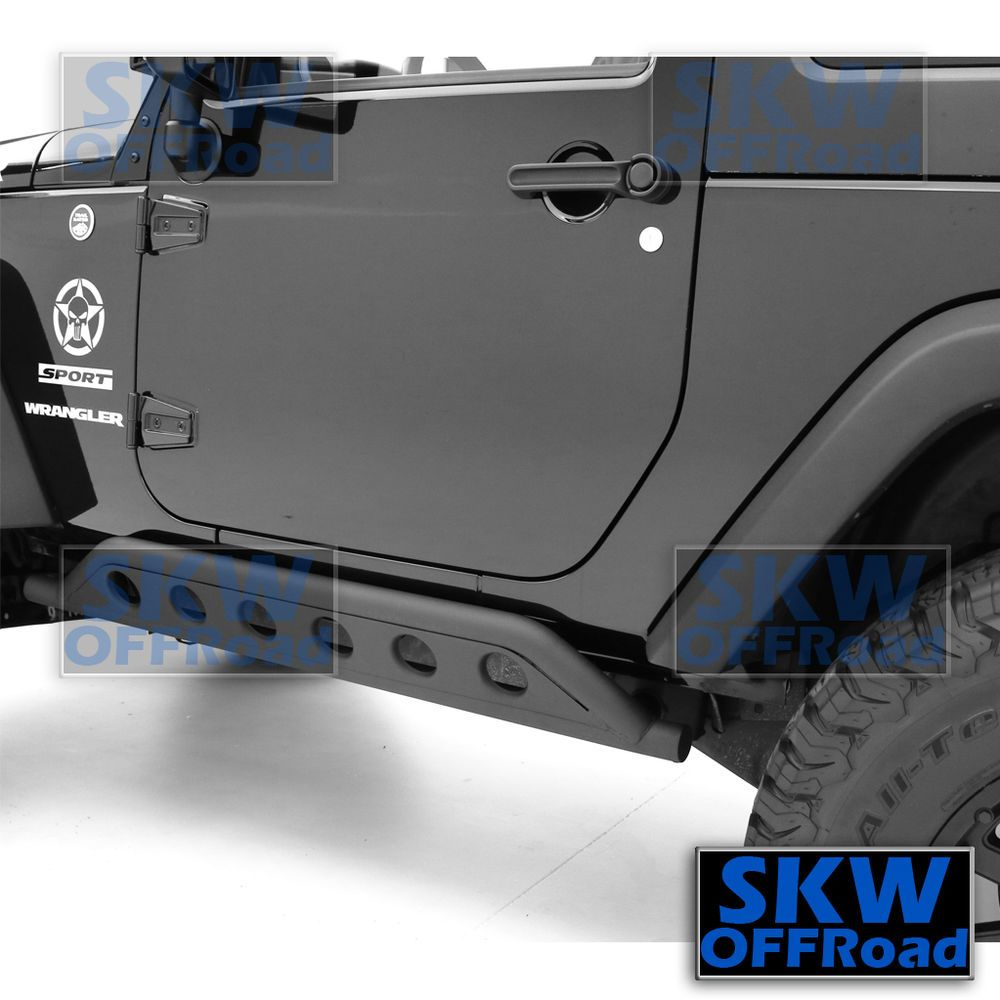 Fit 07 17 Jeep Wrangler Jk2 Door Models Only Rocker Guards