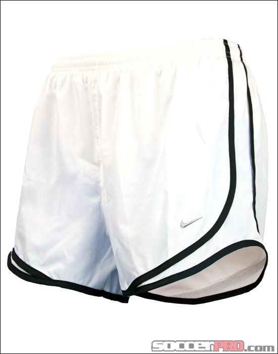37e706a6803e Nike Womens Tempo Shorts - White with Black 2879  runner
