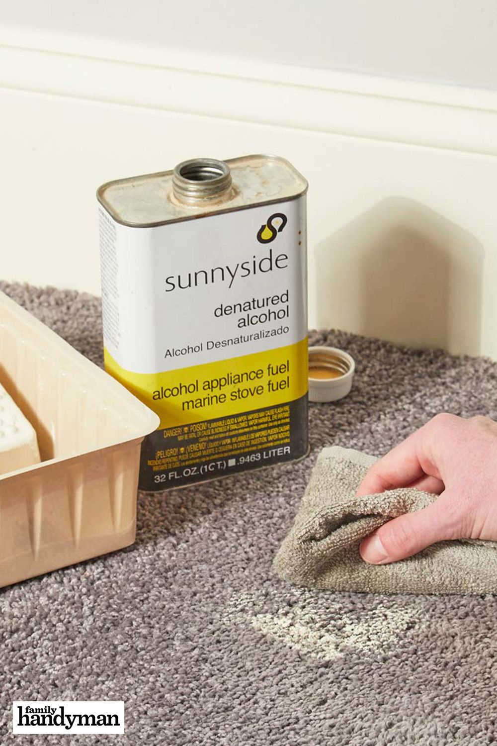 How to clean up paint in carpet carpet repair cleaning