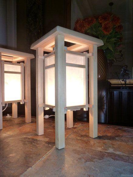 Shoiji Style Lamps