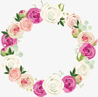 Vector Wreath Wreath Flowers Watercolor Png Transparent Clipart Image And Psd File For Free Download Floral Wreaths Illustration Wreath Drawing Wreath Watercolor