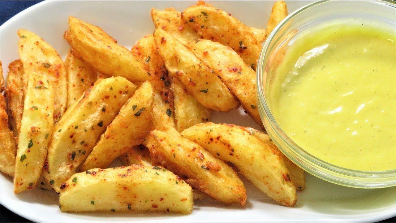Cara Membuat Kentang Wedges Potato Wedges Homemade Recipe Youtube Recipes Homemade Recipes Potato Wedges