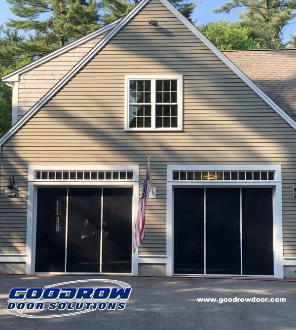 retractable garage door screens keep bugs out of your garage and look cool too