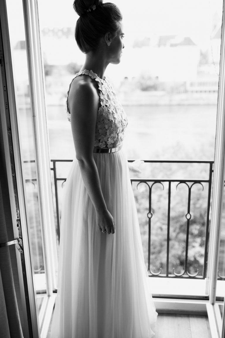 Hochzeit in Basel  Neckholder brautkleid, Kleid hochzeit, Braut