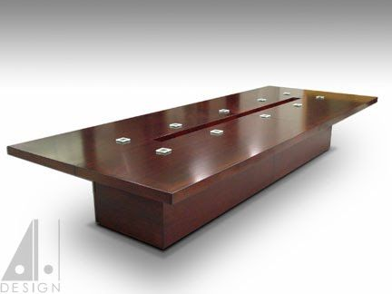 Mahogany conference table for philps design with hidden wiring mahogany conference table for philps design with hidden wiring design by alan harp design and greentooth Gallery