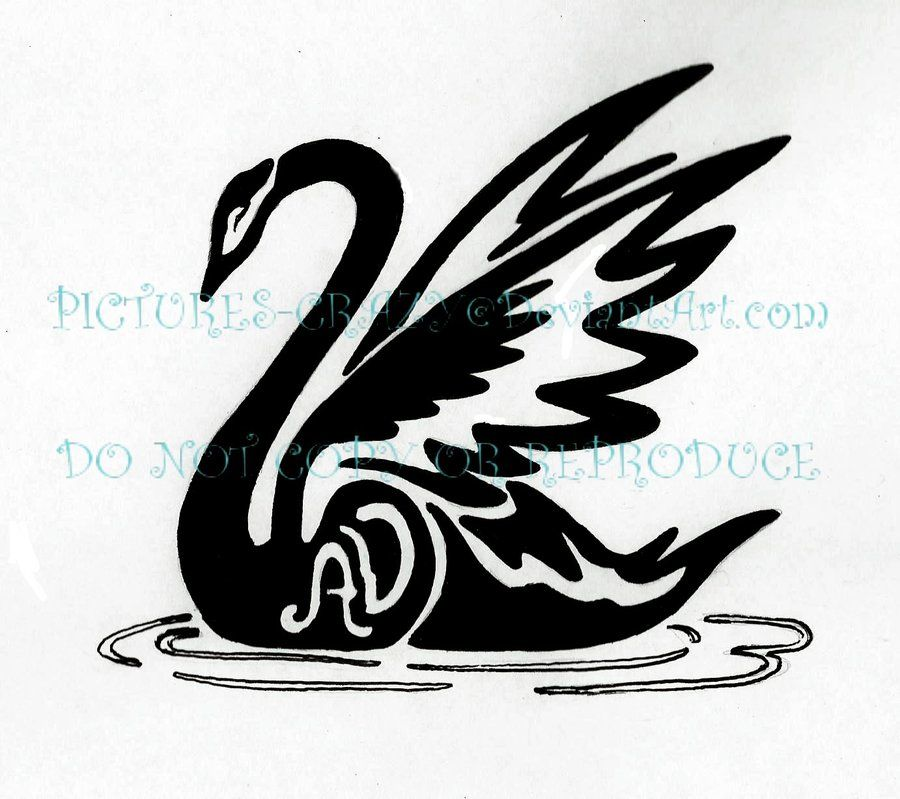 swan tribal tattoo by pictures crazy on deviantart inspiration pinterest swans tattoo. Black Bedroom Furniture Sets. Home Design Ideas