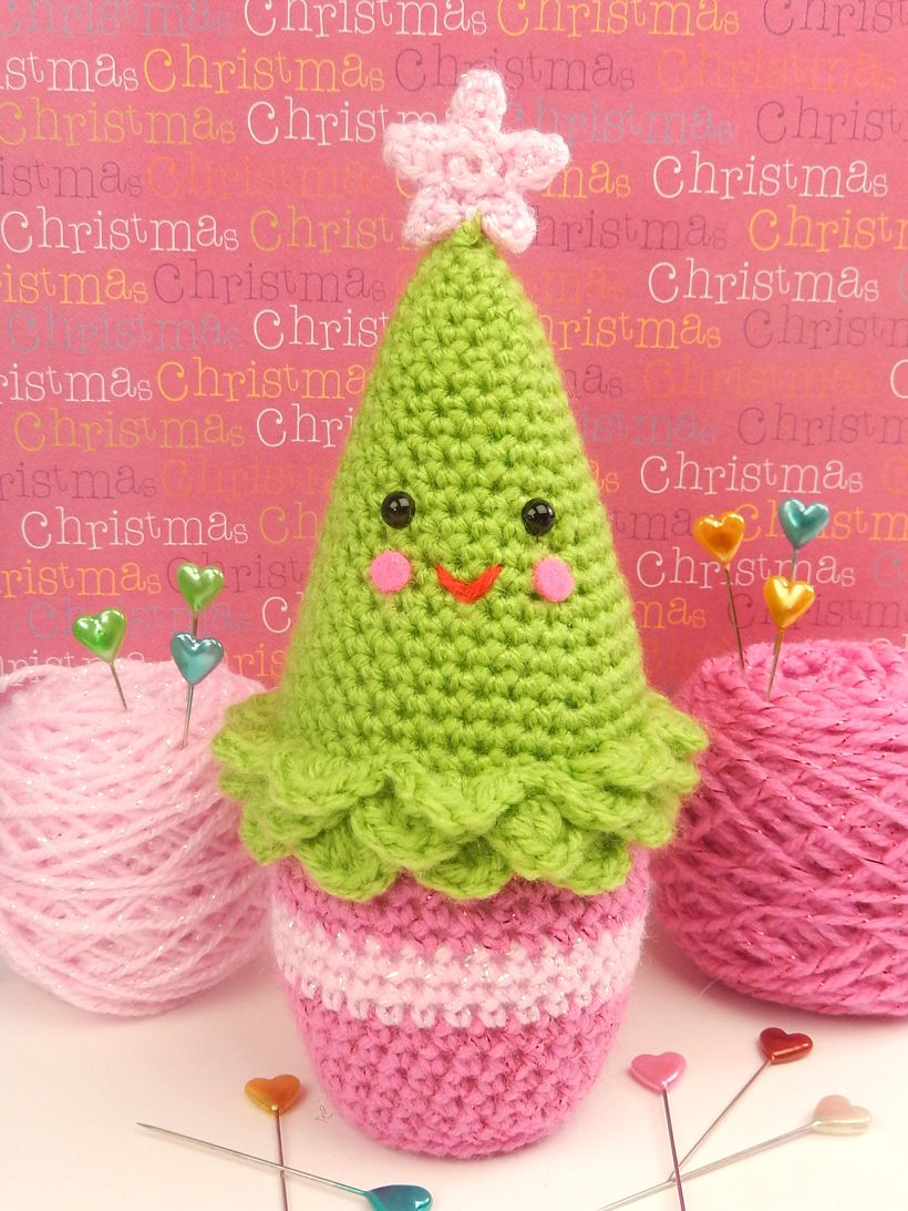 Penny-the-Pine-Tree | CROCHET CHRISTMAS TREES | Pinterest