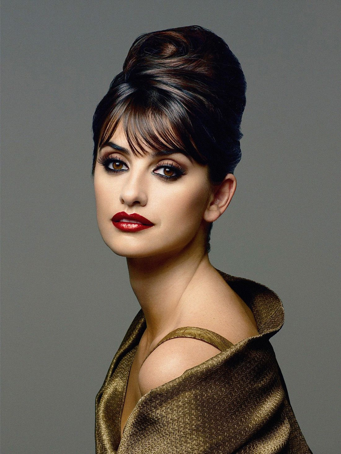penelope cruz adam levine other faces i like pinterest coiffure penelope cruz et. Black Bedroom Furniture Sets. Home Design Ideas