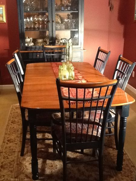 Mdnight Blue Dining Room Set by Bedard of Quebec Kijiji