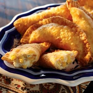 #Empanadas with Sweet Corn Filling from Crisco®
