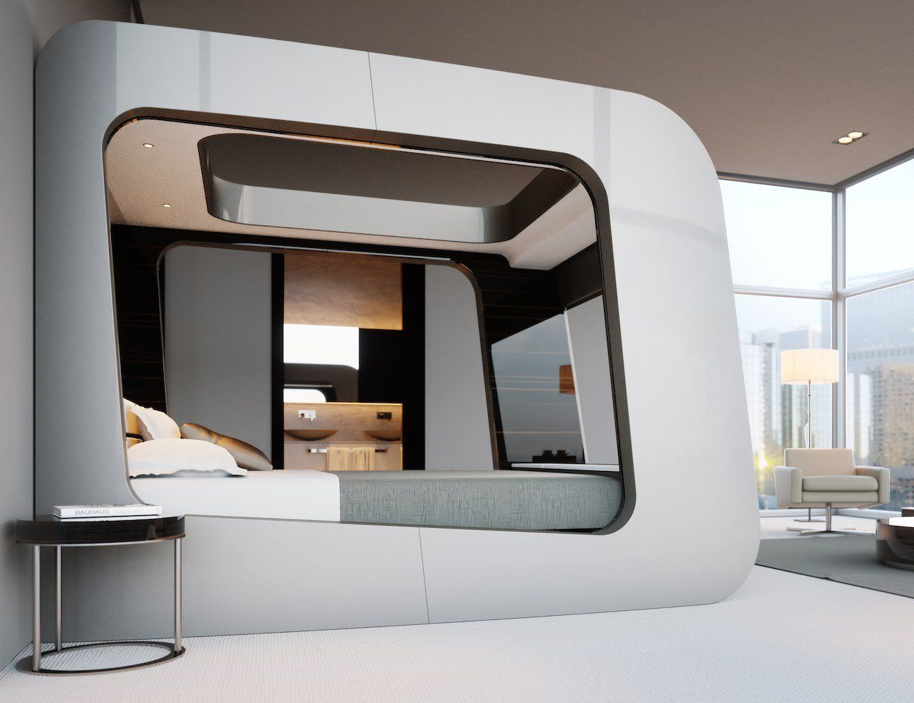 Hican Revolutionary Smart Bed Is Made For The Future Smart Bed