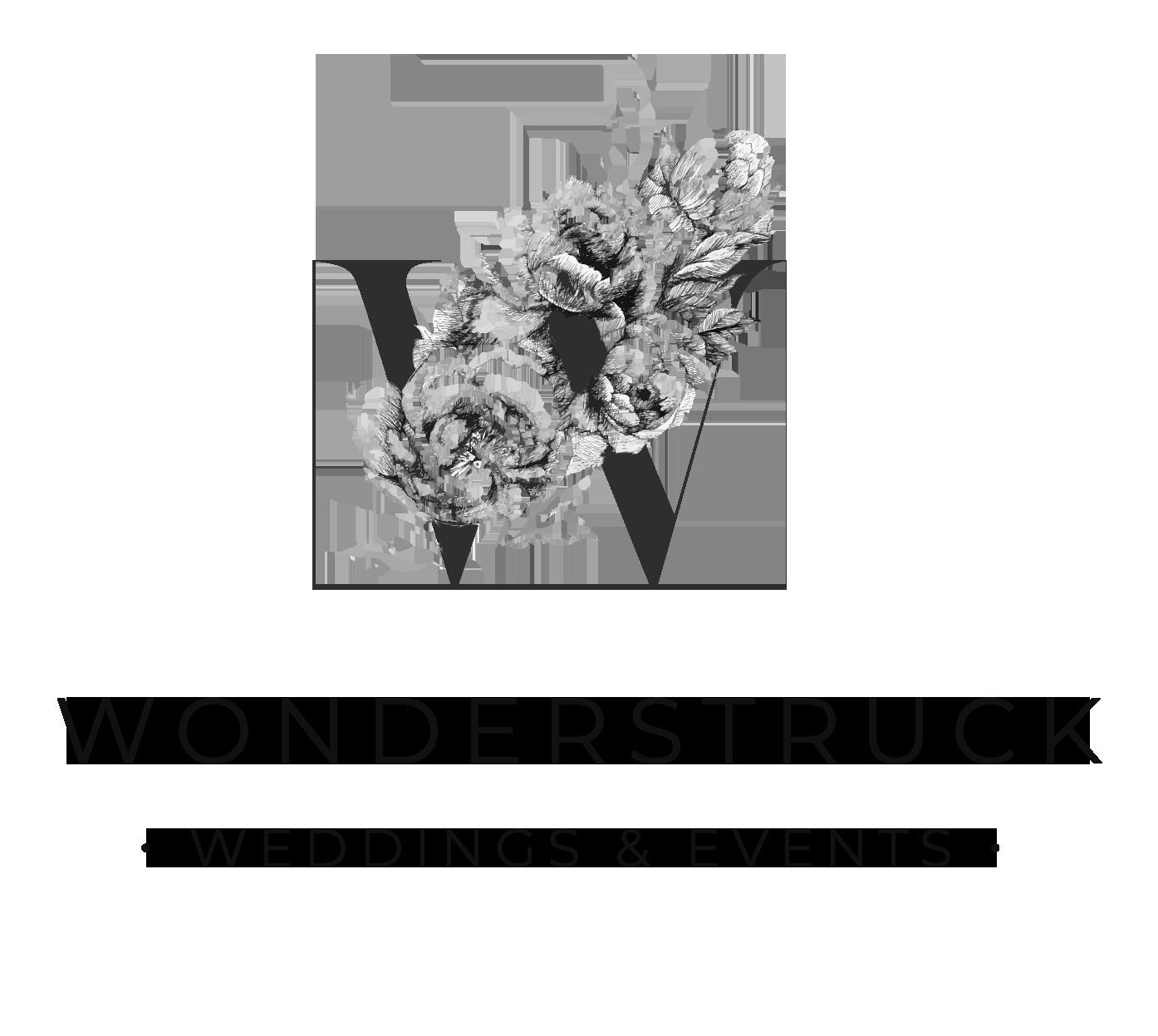Wonderstruck Events Logo Design By Harper Maven Design Logo Design Ideas Brand Stylist Brand Design Ideas Ha Floral Logo Design Event Logo Florist Logo